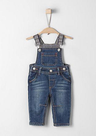 Weiche Jeans-Latzhose