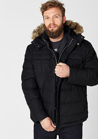 Well-padded cotton parka from s.Oliver