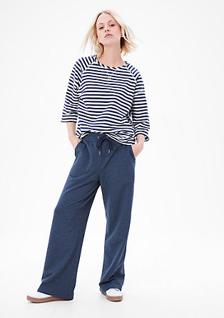 Wide loungewear tracksuit bottoms from s.Oliver