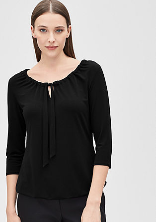 Wide neck top from s.Oliver