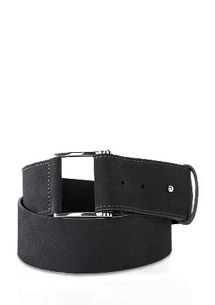 Wide suede belt from s.Oliver