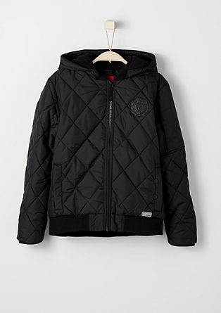 Winter bomber jacket with fleece lining from s.Oliver