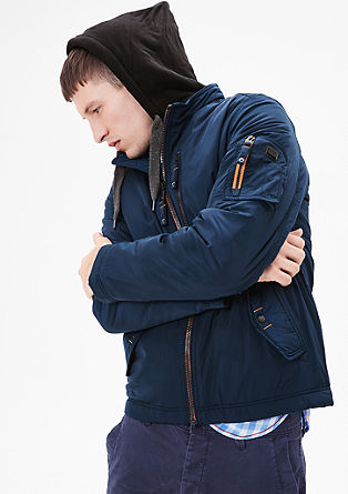 Winter jacket with contrast details from s.Oliver