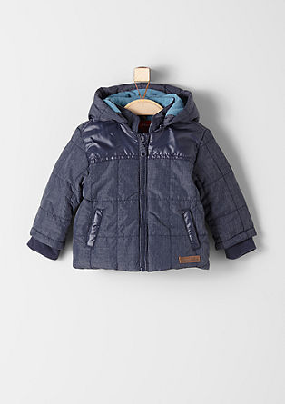Winter jacket with fleece lining from s.Oliver