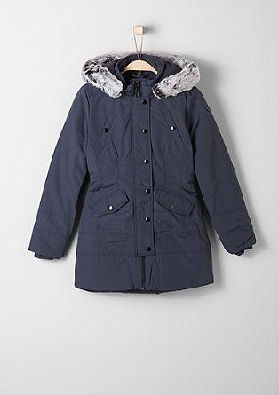 Wintermantel met fake fur