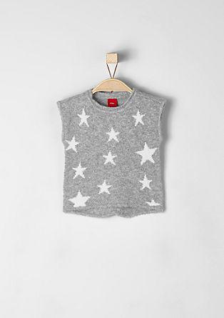 Wollpullunder mit Sternen