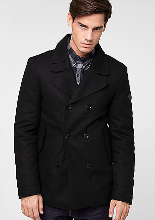 Wool blend jacket from s.Oliver