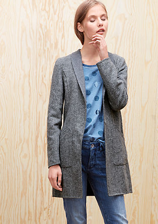 Wool coat in a blazer style from s.Oliver