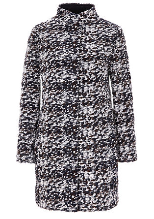 Wool coat in a mottled look from s.Oliver