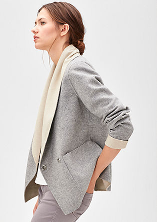 Wool jacket in a blazer style from s.Oliver