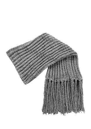 XL fringed snood from s.Oliver