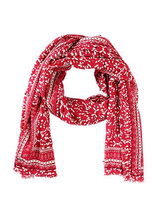 XL-Schal mit Musterprint