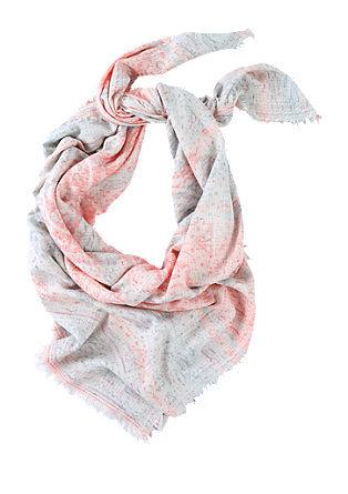 XL sjaal met linnen
