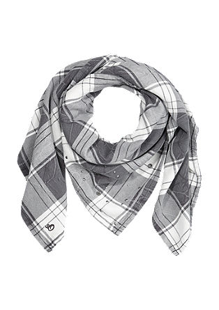 XXL check scarf from s.Oliver