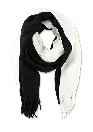 XXL scarf in a two-tone design from s.Oliver