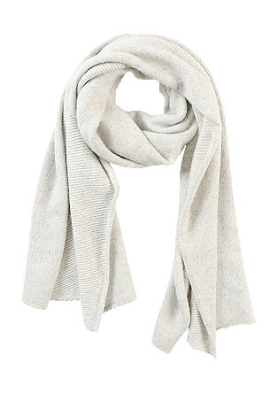 XXL scarf with cashmere from s.Oliver