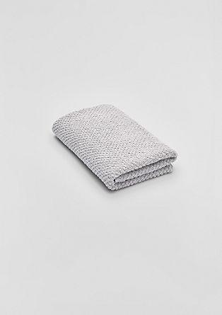 Zachte handdoek van frotté