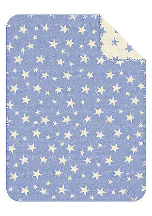 Žakardna odeja z zvezdicami
