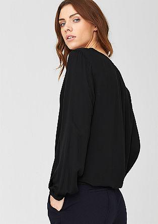 Ženstvena bluza O-oblike