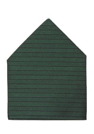 Zijden pochet met strepen