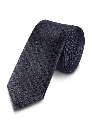 Zijden stropdas met een wafellook