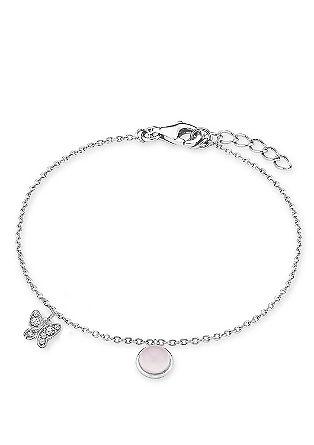 Zilveren armband met een hanger