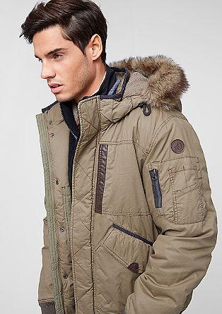 Zimska jakna v slogu bluzona
