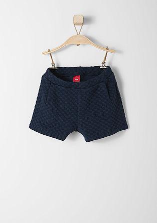 Zimske kratke hlače s strukturnim vzorcem