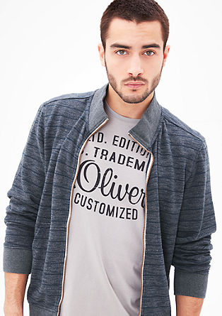 Zip-up sweatshirt from s.Oliver