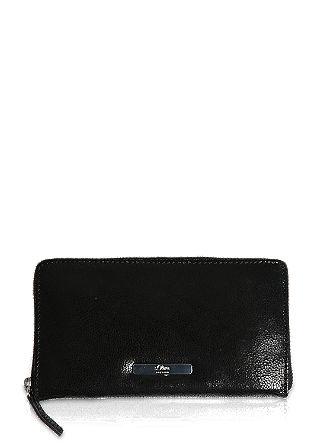 Zip Wallet aus Leder