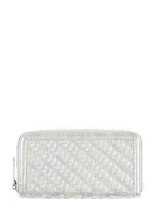 Zip wallet in a metallic look from s.Oliver