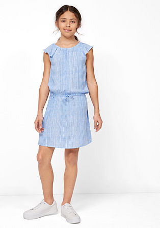 Zomerse gestreepte jurk