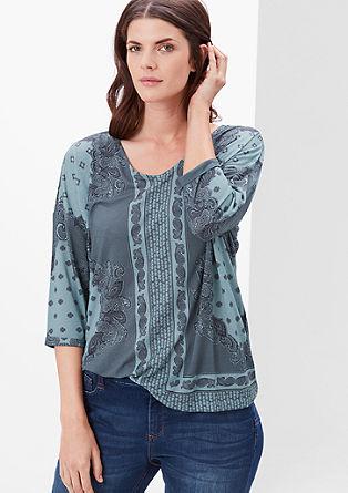 Zračna majica s paisley potiskom