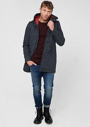 Zrnasta zimska jakna
