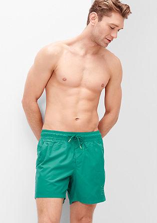 Zwemshort met een print