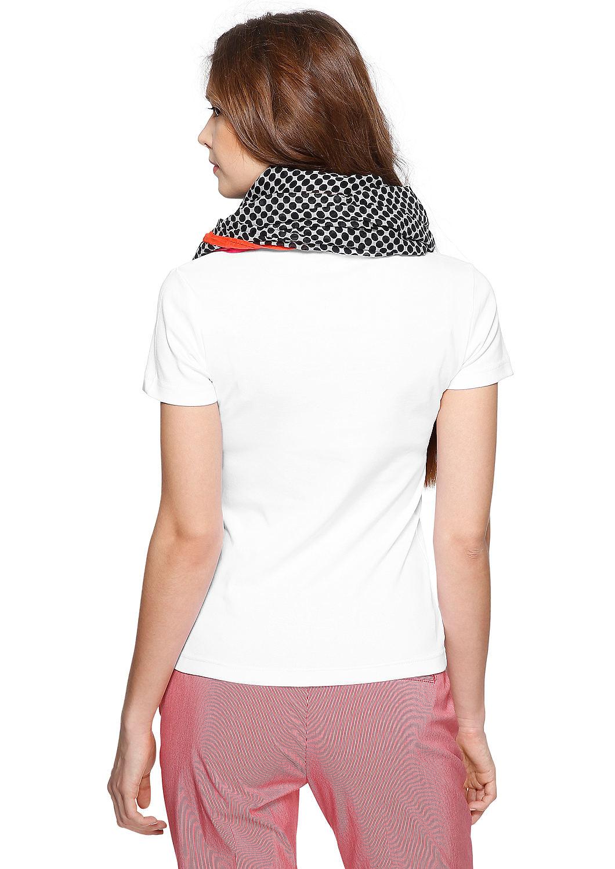 Jerseyshirt mit kleinem Logo