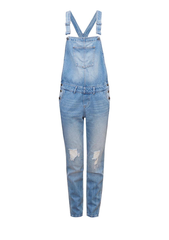 s oliver jeans overall q s designed by jumpsuit blue. Black Bedroom Furniture Sets. Home Design Ideas