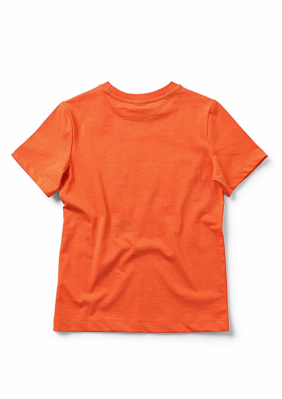 Statement T-Shirt aus Baumwoll-Jersey