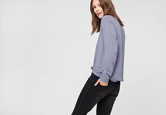 oliver denim catie slim vintage jeans with studs up to 79 99 eur now. Black Bedroom Furniture Sets. Home Design Ideas