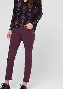 gwen boyfriend coloured jeans in the s oliver online shop. Black Bedroom Furniture Sets. Home Design Ideas