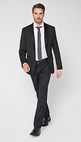 Regular: elegant suit from s.Oliver