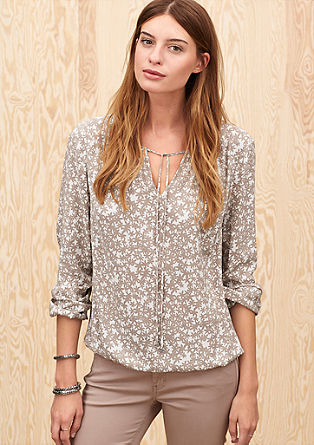 Lightweight viscose blouse top from s.Oliver