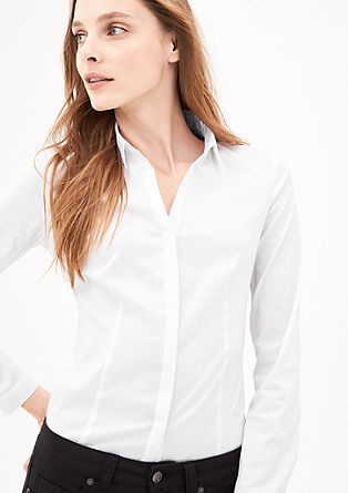 Blouse business stretch de s.Oliver