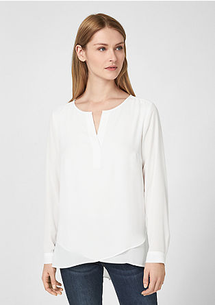 Oversized crêpe blouse from s.Oliver
