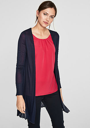 Sheer long cardigan from s.Oliver