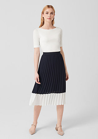 Elegant jersey top from s.Oliver