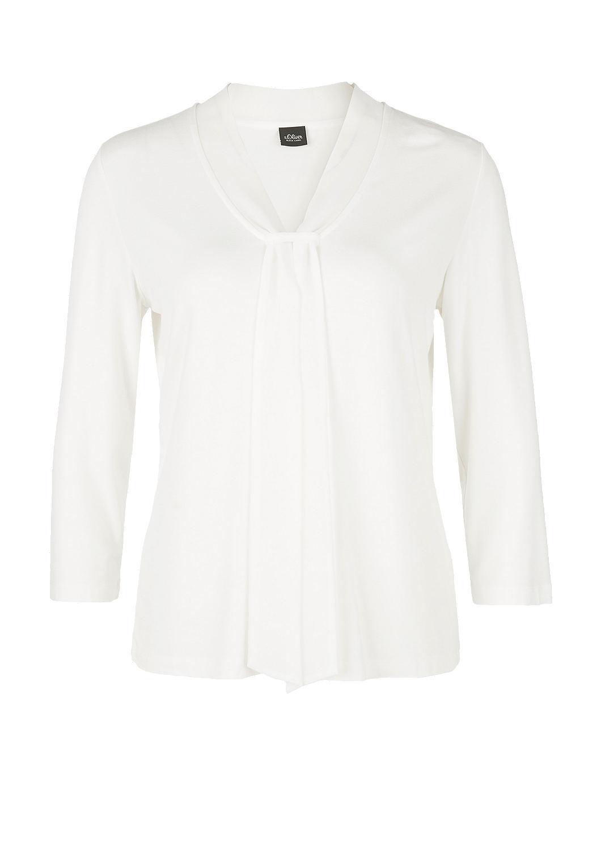 s.Oliver - Jerseyshirt mit Schluppe - 4