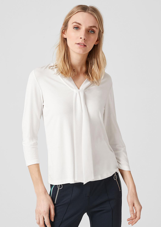 s.Oliver - Jerseyshirt mit Schluppe - 1