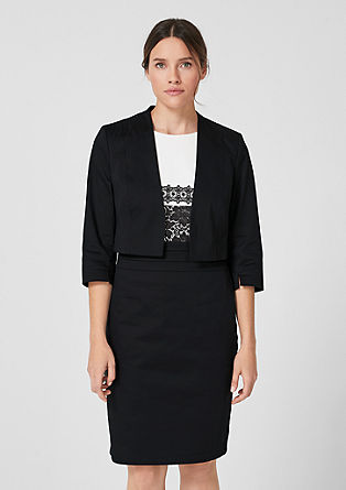 Elegant short blazer from s.Oliver