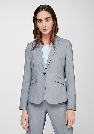 Elegant patterned blazer from s.Oliver